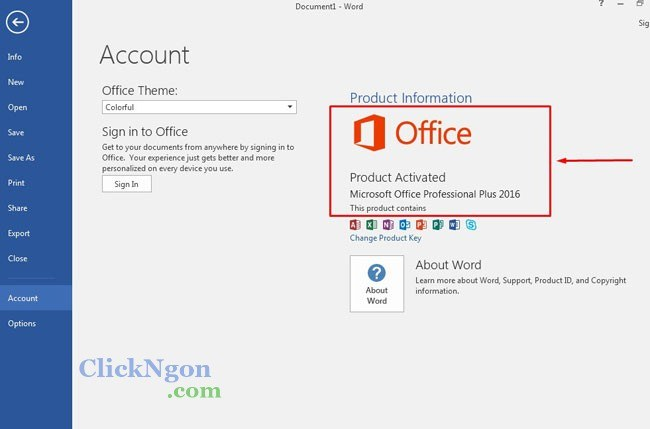 microsoft office professional plus 2016 product key free