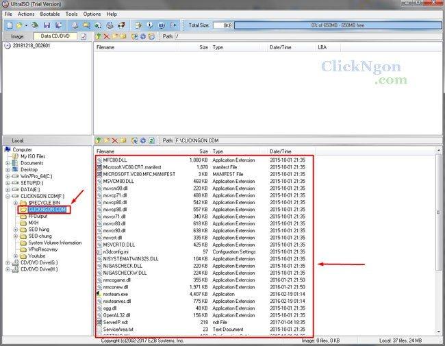 Download UltraISO - Phần Mềm Tạo, Chỉnh Sửa File ISO