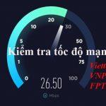 cách đo tốc độ mạng không sử dụng phần mềm