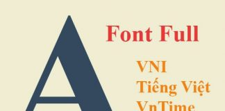 download full font chữ cho win 7,8,10, xp