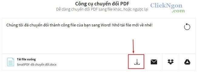 chuyển đổi pdf sang word, excel, powerpoint
