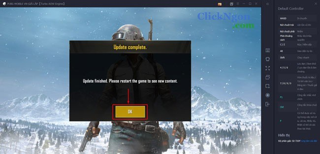 cách chơi game PUBG mobile trên máy tính pc