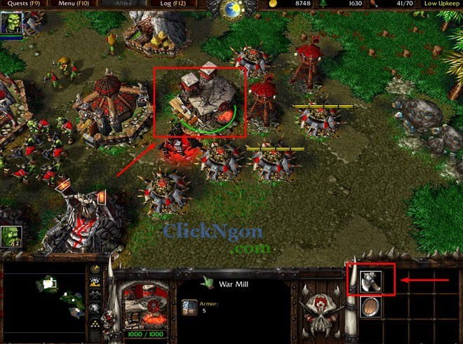 map campaign warcraft 3
