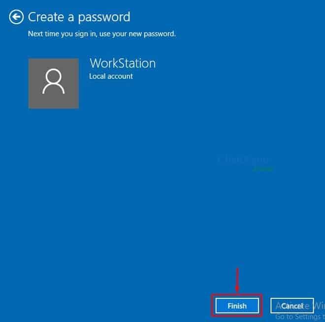 cài đặt mật khẩu cho máy tính