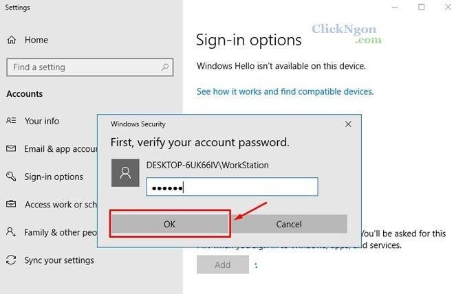 cách cài mật khẩu máy tính win 7