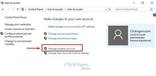 đặt mật khẩu máy tính