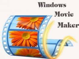 windows movie maker - phần mềm làm video từ ảnh trên máy tính