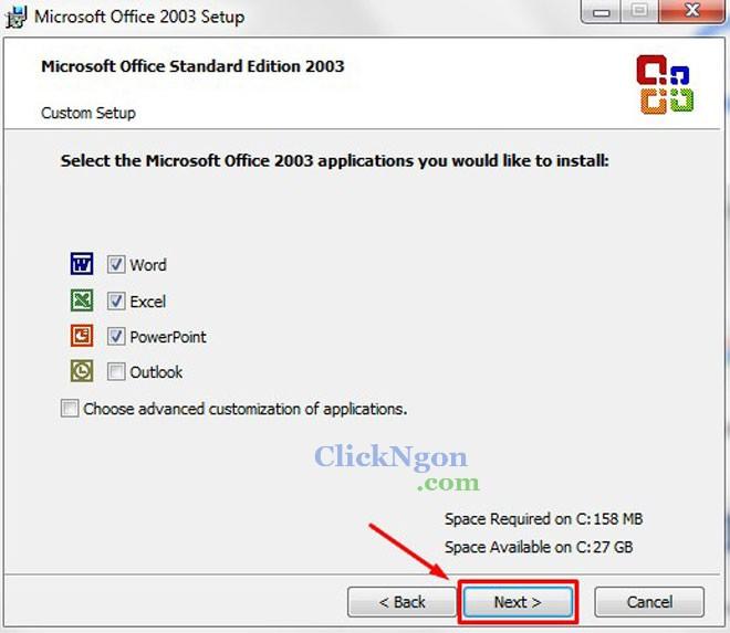Download Microsoft Office 2003 Full - Hướng Dẫn Cài Đặt Chi Tiết