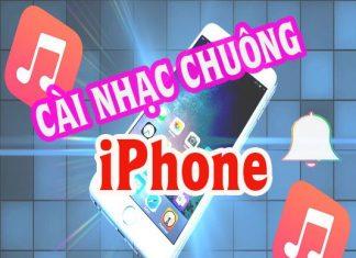 hướng dẫn cài nhạc chuông iphone