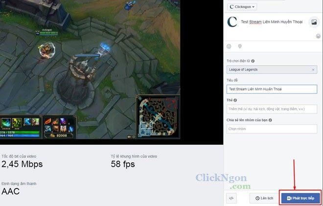 live stream fb