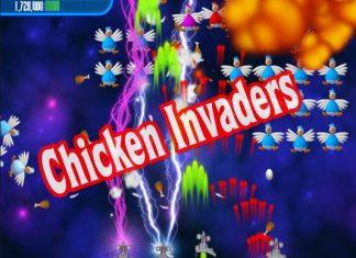 game bắn gà chicken invaders 2019