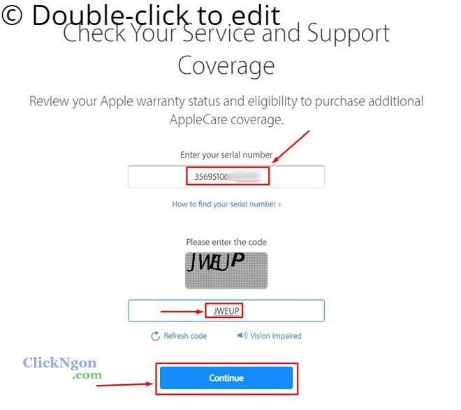 check serial apple