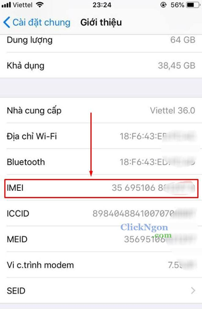 check imei iphone apple