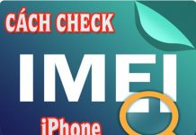 kiểm tra imei iphone