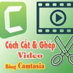 cách cắt ghép video với camtasia studio