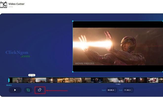 hướng dẫn cắt video online