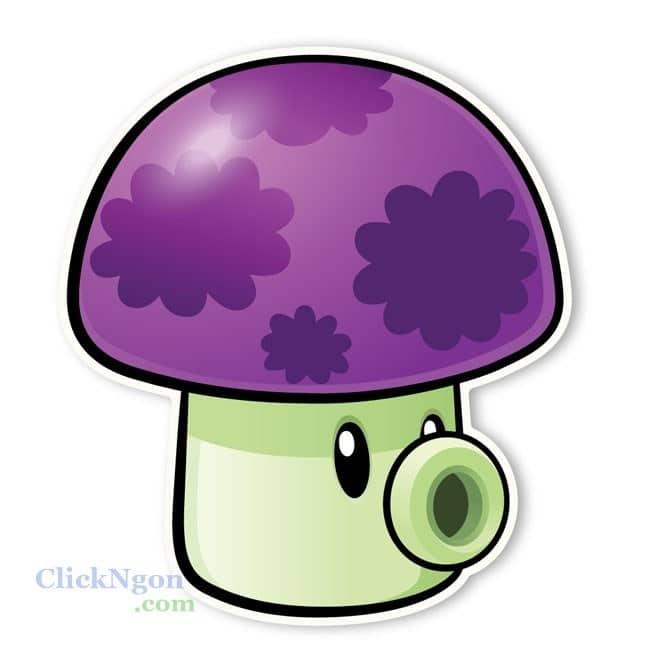 Puff-shroom pvz 2